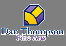 Dan Thompson Fine Arts, Logo