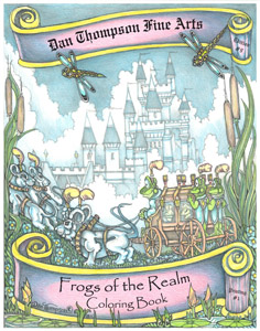Edition #09 - Frogs of the Realm Coloring Book - Front